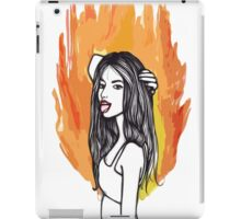 FIRE GIRLS iPad Case/Skin