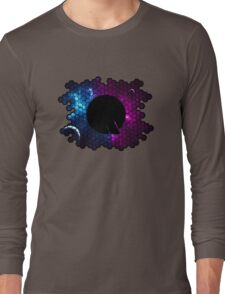 Quindustries R&D Logo Space 3 Long Sleeve T-Shirt