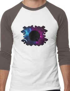 Quindustries R&D Logo Space 3 Men's Baseball ¾ T-Shirt