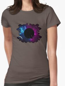 Quindustries R&D Logo Space 3 Womens Fitted T-Shirt