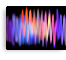 Seismic Waves Canvas Print