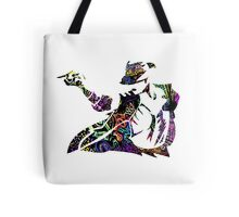 Michael Jackson -  Psychedelic Tote Bag
