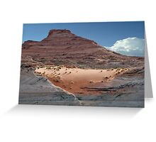 Painted Desert Serenity Greeting Card