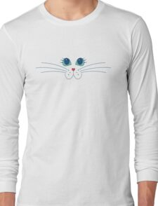 Putty-cat Face Long Sleeve T-Shirt