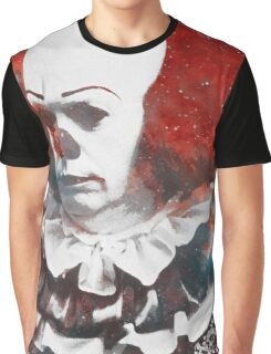 Stephen King's 'It' | Pennywise the Dancing Clown | Tim Curry | Galaxy Horror Icons Graphic T-Shirt