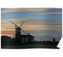Weybourne Tower Mill Poster