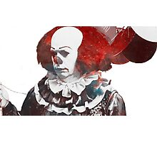 Stephen King's 'It' | Pennywise the Dancing Clown | Tim Curry | Galaxy Horror Icons Photographic Print