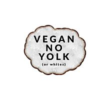 Funny Vegan Photographic Print