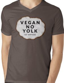 Funny Vegan Mens V-Neck T-Shirt