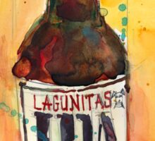 IPA Lagunitas Beer Art Sticker