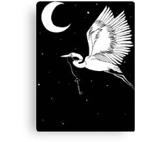 Grief is a Thing with Feathers Canvas Print