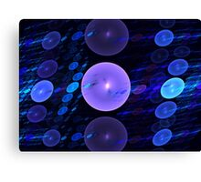 Mermaid Spheres Canvas Print