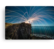 The last spin Canvas Print