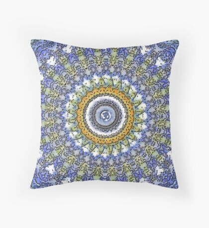 Lace Om Throw Pillow