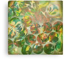 """the Artist Adamo """"Raw Conceptual Airbrush exercise"""" circa 2012 Canvas Print"""