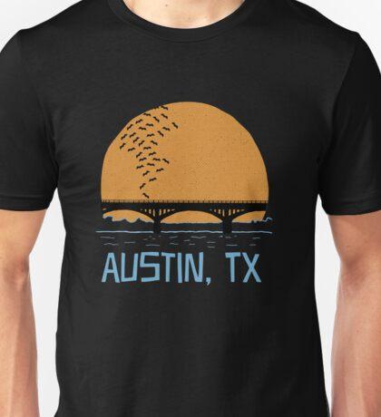 Austin Texas Bat Bridge  Unisex T-Shirt