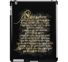 """Night Gathers..."" iPad Case/Skin"