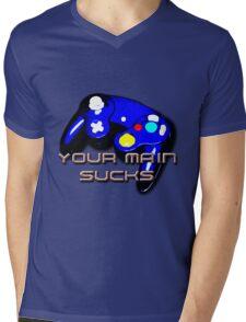 Your Main Sucks Mens V-Neck T-Shirt