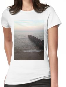 Looking for the Horizon Womens Fitted T-Shirt