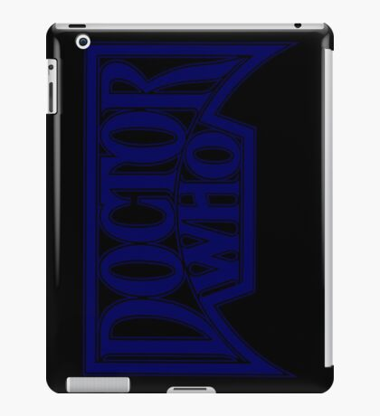 Doctor Who at the Pinnacle iPad Case/Skin