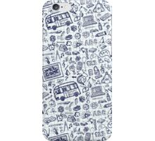 Back to School Supplies Sketchy  Notebook iPhone Case/Skin