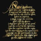 'Night Gathers...' by GarfunkelArt