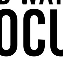 Let's Stay In & Watch Hocus Pocus Sticker