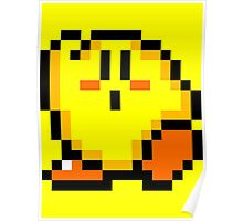 Kirby (Yellow) Poster