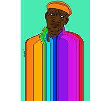 Coloured Man Photographic Print