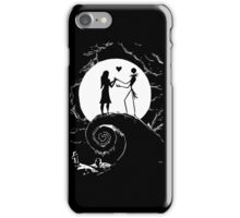 jack skellington and sally - Halloween T shirt iPhone Case/Skin