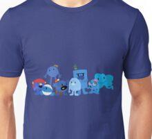 Mr Men and Little Misses - Blue Unisex T-Shirt
