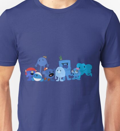Mr Men and Little Misses - Blue Unisex T-Shirt