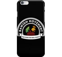 Vegan Vegetarian Rawish Movement iPhone Case/Skin