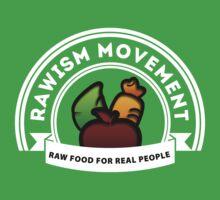 Vegan Vegetarian Rawish Movement One Piece - Short Sleeve
