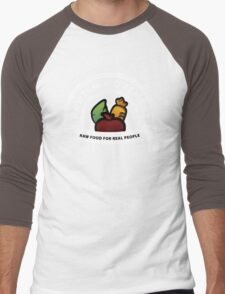 Vegan Vegetarian Rawish Movement Men's Baseball ¾ T-Shirt