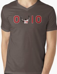 Ohio State Buckeyes Mens V-Neck T-Shirt