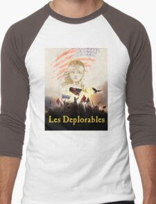 LES DEPLORABLES Men's Baseball ¾ T-Shirt