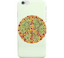 Color Blind Peace Sign iPhone Case/Skin