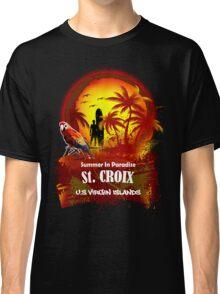 St. Croix U.S. Virgin Islands Beach Time Classic T-Shirt