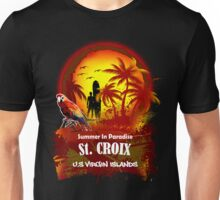 St. Croix U.S. Virgin Islands Beach Time Unisex T-Shirt