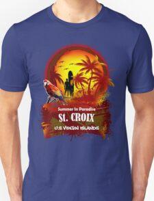 St. Croix U.S. Virgin Islands Beach Time T-Shirt