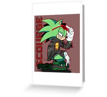 Scourge Greeting Card