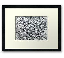 "The Artist Adamo ""RAW Coceptual Sharpie doodle"" Framed Print"