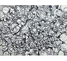"The Artist Adamo ""RAW Coceptual Sharpie doodle"" Photographic Print"