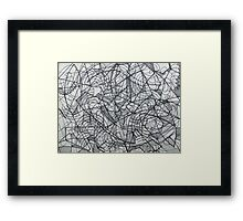 "the Artist Adamo ""RAW sharpie Conceptual Doodle"" Framed Print"