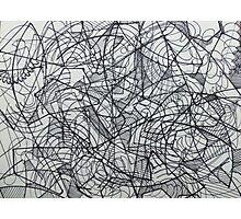 "the Artist Adamo ""RAW sharpie Conceptual Doodle"" Photographic Print"