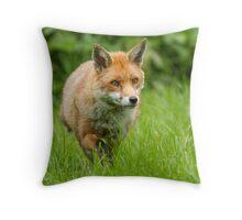 Foxing along Throw Pillow