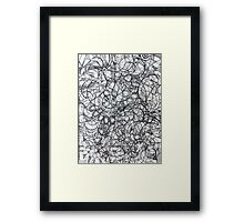 "The Artist Adamo ""RAW Sharpie Conceptual Quilting"" Framed Print"