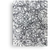"The Artist Adamo ""RAW Sharpie Conceptual Quilting"" Canvas Print"