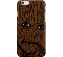 Groot Illustration iPhone Case/Skin